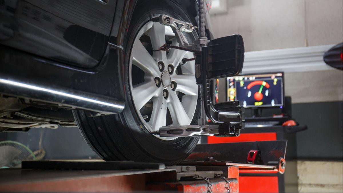tires worn down uneven need wheel alignment